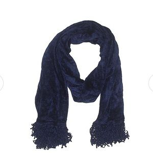 London Fog Deep Blue Scarf